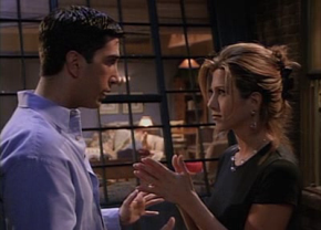 Second Look: Friends 'The One Where Rachel Finds Out' – Men Are Here